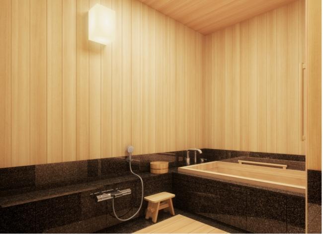 東急ホテル桜バスルーム