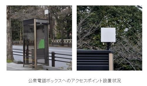 公衆電話ボックスWi-Fi