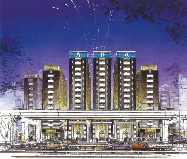 アパホテル六本木一丁目イメージ