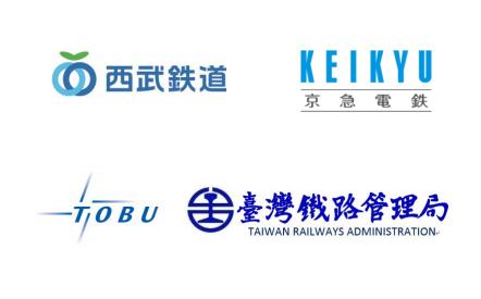 鉄道4社局ロゴ