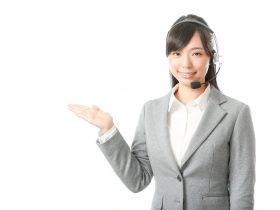 コールセンター女性のイメージ