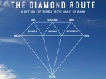DIAMOND ROUTE JAPAN -A LIFE EXPERIENCE IN HEART OF JAPAN-表紙