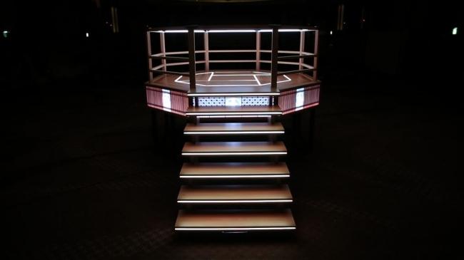 移動型組み立て式櫓「かぐらKAGURA」