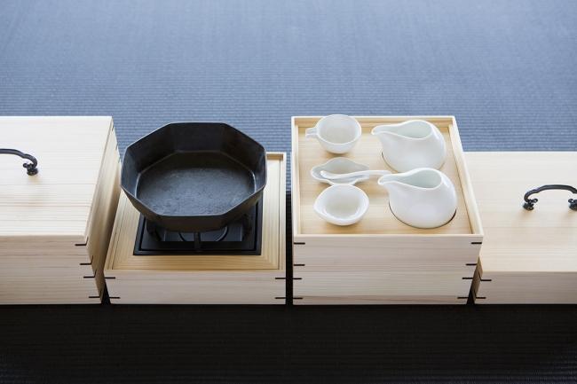 セルフ型すき焼き重箱