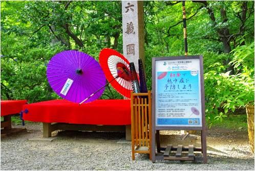 和傘のイメージ